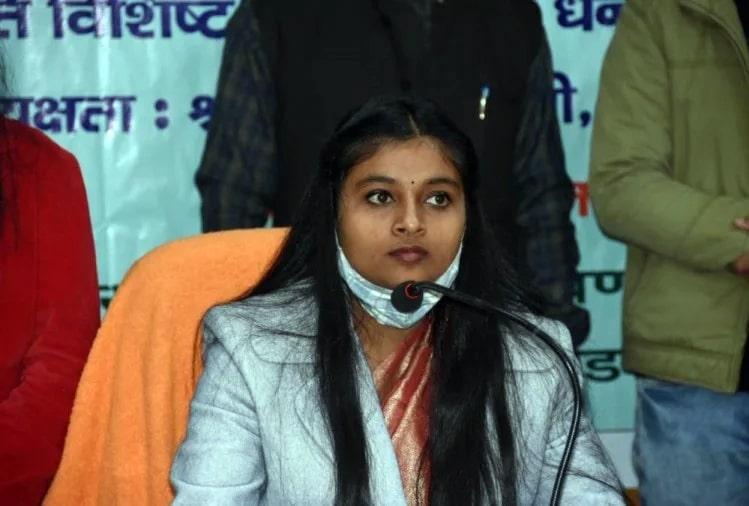 Srishti Goswami took over as the Chief Minister of Uttarakhand one day