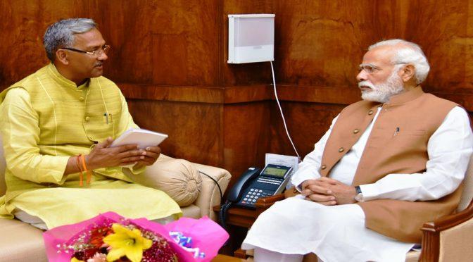 सीएम त्रिवेंद्र सिंह रावत ने बताया कि पीएम ने कॉल   पर दुर्घटना के बारे में जानकारी ली : चमोली में उत्तराखंड ऋषिगंगा ग्लेशियर टूटा