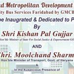faridabad metro bus