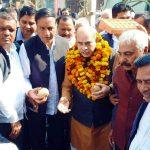 faridabad Cabinet Minister Moolchand Sharma